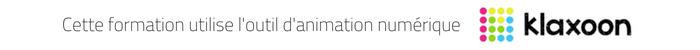 H3O Conseil et Formation utilise l'outil d'animation numérique Klaxoon