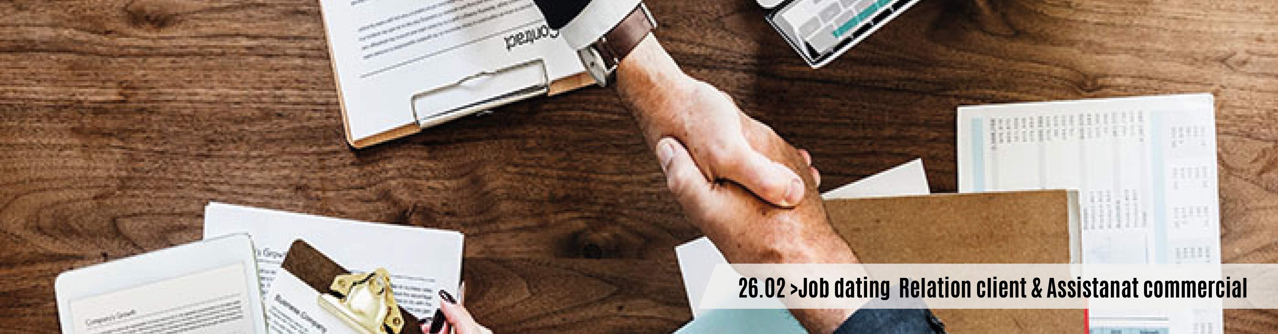 Vous recrutez dans les métiers de la relation client et de l'assistanat commercial ? Rendez-vous le 26 février pour le job dating H3O Conseil et Formation !