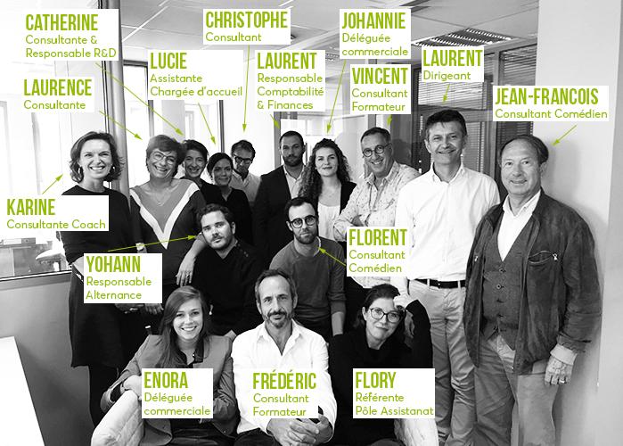 L'équipe de H3O Conseil et Formation, cabinet de conseil, formation, coaching et event à Saint-Herblain (44)