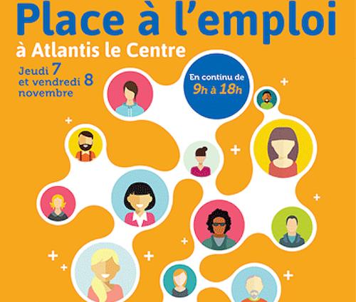 Le 7 et 8 novembre, retrouvez H3O Conseil et Formation au Forum Place à l'Emploi !